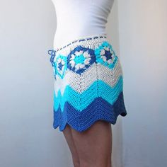 This skirt is wonderful and unique crochet project for all seasons - spring, summer, fall, winter! The file pattern includes written instructions and pictures to show you the process step by step. Very easy to follow. The pattern is available for size S/M and L/XL.  This is a PDF pattern and not the finished item. The skirt shown in the pictures is NOT included in the listing. This is a non-refundable purchase so please read everything carefully.  * Pattern is written using Standard...