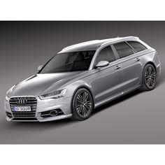 Audi A6 Avant 2015 - 3D Model