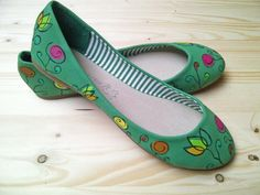 hand painted ballet flats if you are interested contact me at idairaartiles@gmail.com