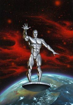 The Silver Surfer by JoeJusko