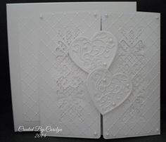 Quilled 60th Diamond Wedding Anniversary Card By PaperDaisyCards