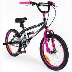 """SilverFox BMX Plank 18"""" Bike with Stunt Pegs in Black and... https://www.amazon.co.uk/dp/B01AIL40YC/ref=cm_sw_r_pi_dp_x_2mf1xbNC6RY0G"""