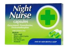 Night Nurse Capsules have been specially formulated for night time use. They quickly relieve major cold and flu symptoms, helping you to get a good nights sleep and to wake feeling better. Throat Pain, Sore Throat, Night Nurse, Flu Symptoms, Decongestant, Runny Nose, Medical Advice, Good Night Sleep