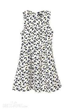 #Sleeveless #Day #Dress Latest Summer Euramerican Sleeveless Print Tank Dress