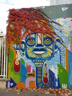 Paris: Graffiti Dacruz Rue de la Marne (2010)