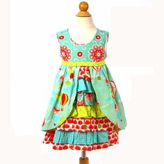 Jelly the Pug Up Up Away Hanna Dress (7)