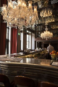 The GNH Bar at the Great Northern Hotel London