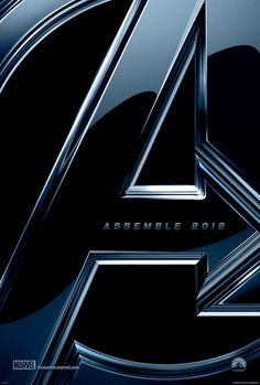 Avengers Movie Poster   #movies  #movieposters    I love this flick would like to see it again ! wish I had this promotional poster at my room