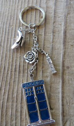 Doctor Who Ninth Doctor Inspired Inspired Keychain
