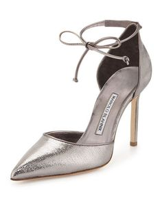 Shop the Manolo Blahnik collection at Bergdorf Goodman. Browse women's heels and boots from the iconic designer. Pretty Shoes, Beautiful Shoes, Manolo Blahnik Heels, Fashion Heels, Ankle Strap Heels, Pointed Toe Pumps, Bergdorf Goodman, Shoe Collection, Exclusive Collection