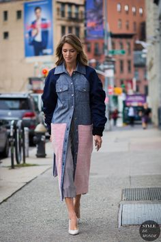 New York Fashion Week SS 2016 Street Style: Helena Bordon