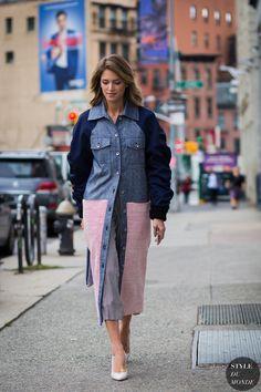 New York Fashion Week SS 2016 Street Style: Helena Bordon