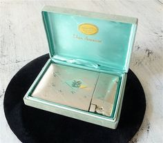 Vintage Elgin America Cigarette Case and Lighter by LoopandBuckle, $89.00
