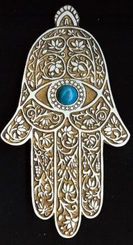 outline hamsa tattoo - Google Search