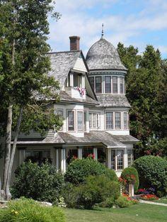 mackinac island | Mackinac Island, MI | Victorian Houses