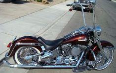 Harley Davidson soft tail Deluxe LowRider #harleydavidsonbaggerpaint
