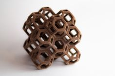 Did you know you can now 3D print chocolate? You can. Here's an example!