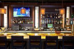 Backlit Onyx Bar