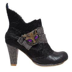 Irregular Choice Miaow boots in fur!