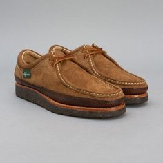 82ef63ed98d8f Eastland Woodstock English Moc in Wheat Suede   Chesnut Leather