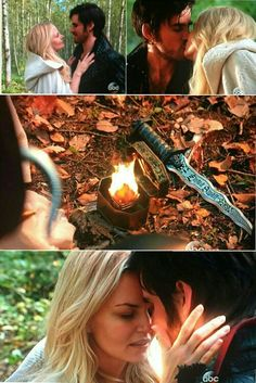 """""""Don't you get it? I'm afraid because I DO want a FUTURE with you"""" 5x08 """"Birth"""" #CaptainSwan #OnceUponATime #ouat"""