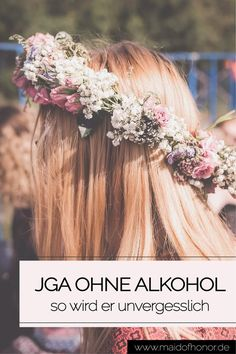 Junggesellinnenabschied ohne Alkohol: So wird er zum Knaller Wedding Planning, Crown, Party, Bachelorette Parties, Hacks, Weddings, Maid Of Honor Responsibilities, Corona, Bridal Showers