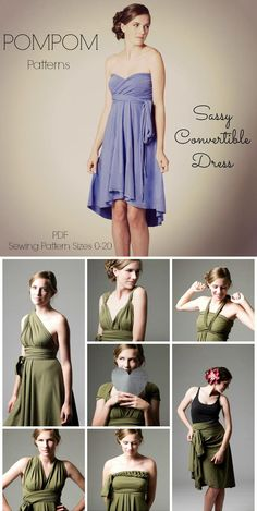 7ec8d72bae9 9 Best Infinity Dress Patterns images
