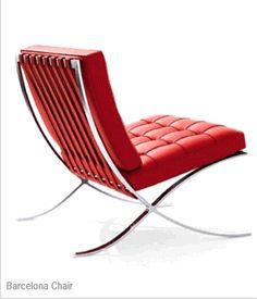 Mies Van Der Rohe   Barcelona Chair #BarcelonaChair