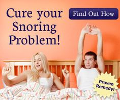 Good Morning Snore Solution   • Get a Good Night's Sleep Once and For All, with a safe, comfortable and effective anti-snoring and    sleep apnea mouthpiece.   • Licensed by Health Canada, FDA, European Commission (EU Medical Directive), Australian Therapeutic Goods Administration (TGA).    • Safe, cost effective alternative to expensive oral appliances and CPAP.    • Clinically proven to significantly reduce snoring and sleep apnea.