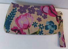 Clutch Bag Wristlet Gift for her Purse Swoon Coraline