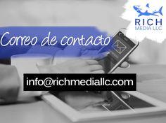¿Deseas comunicarte con nosotros y comenzar hoy a potenciar tu negocio? Puedes escribirnos a info@richmediallc.com ¡Somos #TeamRich!     -     . . . .      #social #emprendimiento #correo #crecimiento #empresa #ventas #marketing