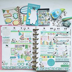 My week in my Happy Planner  and I had so much fun with Snoopy this week. This MeandMyBigIdeas planner is such a great planner.   Shop: mydecoratedbliss.bigcartel.com