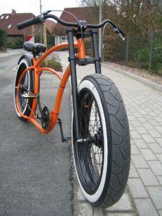 . Custom Beach Cruiser, Lowrider Bike, Cruiser Bicycle, Chopper Bike, Fat Bike, Bike Style, Bike Design, Custom Bikes, Motorbikes