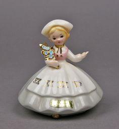 Vintage Josef Originals Sweden Girl Ceramic by AuntHattiesAttic