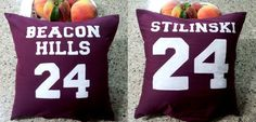 Teen Wolf Lacrosse Pillow