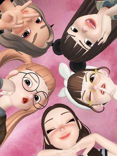 Hijab Cartoon, Cartoon Icons, Girl Cartoon, Cartoon Art, Lion Wallpaper, Cute Girl Wallpaper, Emoji Wallpaper, Cute Couple Pictures, Bff Pictures