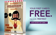 TREAT.COM FREE FATHER'S DAY CARD!