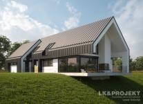 Projekty domów LK Projekt LK&1302