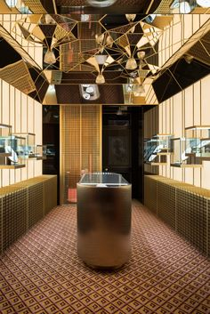 9 Ultra-Luxe Interiors by Dimore Studio - Interior Inspirations - Jewellery Shop Design, Jewellery Display, Jewelry Shop, Jewelry Stores, Gold Jewelry, Jewelry Scale, Jewellery Showroom, Fine Jewelry, Fashion Jewelry