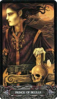 Tarot of Vampyres ► Prince of Skulls