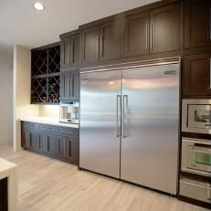 Extra large refrigerator