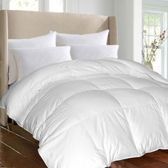 Hotel Grand Oversized Luxury 1000 Thread Count Egyptian Cotton Down Alternative Comforter - Overstock Shopping - The Best Prices on Hotel Grand Down Alternative Comforters