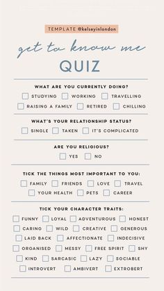 Personal Story Templates by Get To Know Me quizzes. Instagram Story Questions, Instagram Story Ideas, Instagram Tips, Instagram Feed, Instagram Games, Instagram Challenge, Get To Know Me, Getting To Know You, Digital Marketing Strategy