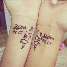 #sister #sisters #sistertattoo #sistertattoos #matchingtattoos #wristtattoo #wri…