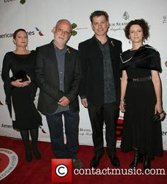 Go the Kiwis! These guys are part of the NZ contingent nominated for Oscars - and Diane is wearing Jens Hansen jewellery on the Red Carpet later today. This photo was from a gig at the Four Seasons Hotel the other night - looking fabulous!