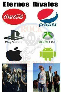 Memes de bandas y cosas místicas (Terminada) - 5 - Wattpad Music Memes, Music Humor, Guns N Roses, Sarcastic Laugh, Rock Meme, Haha Funny, Funny Memes, Nirvana Logo, Rock Argentino