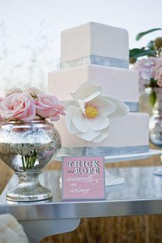 Ruffle Cake, Wedding Cake Design #wedding #cake www.loveitsomuch.com