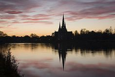 Lichfield Cathedral at Night September Holidays, Choir, Cathedral, England, History, Night, Places, Travel, Happy