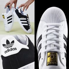 black or white adidas ? Adidas original superstar sneakers http://www.justtrendygirls.com/adidas-original-superstar-sneakers/