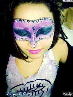 #Maquillaje #MiPrincesa #Cata #Antifaz #Infantill
